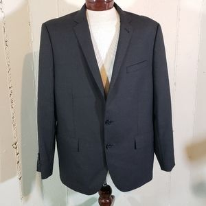 J. Crew NY Ludlow Italian Wool 46R Gray Blazer